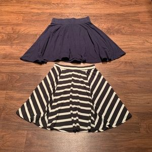 Bundle of circle/skater skirts size XS